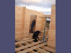 Construction of Lodge home